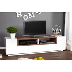1000 images about tv meubel on pinterest tvs vintage for Tv dressoir hoogglans wit