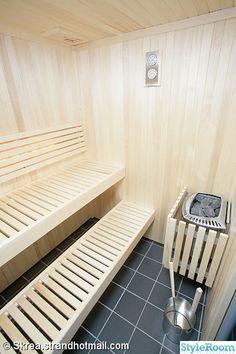 bastu,dusch,klinker,kakel,golv Steam Room Shower, Sauna Steam Room, Sauna Room, Saunas, Sauna Shower, Sauna Heater, Outdoor Sauna, Sauna Design, Interiores Design