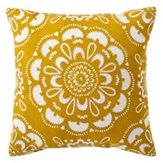 Target Home™ Medallion Decorative Pillow - Gold/Shell.
