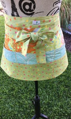 Sewing/Quilting/Crafter's Half Apron Spring