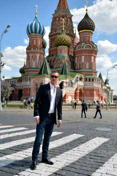 Michael Fassbender in Russia
