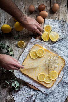 Brownies de limón. Receta muy fácil. Lemon brownies. Easy recipe. #lemon #limón #brownie #easyrecipe #recetasfaciles