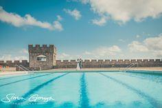 St Donats Castle Pool