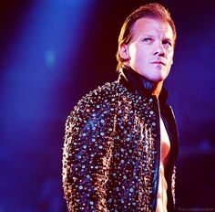 Chris Jericho and his sparkly jacket!!! <3 <3 <3