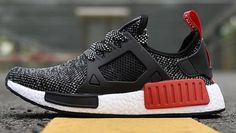 f47a1581b48b1 Adidas NMD XR1 Black White Red on We Heart It