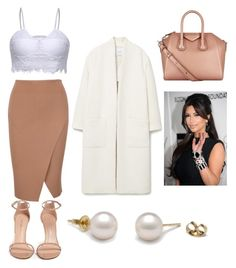 """""""Kim K"""" by arohaawilliams on Polyvore featuring MANGO, Stuart Weitzman and Givenchy"""