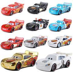 Cars Disney Pixar Cars Mack Lightning McQueen Disney Ships, Disney Pixar Cars, Mcqueen Cars 3, Disney Colors, Lightning Mcqueen, Toy Trucks, Diecast, Bike, Toys