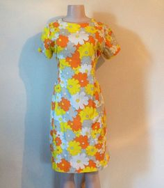 Lovely Summer True Vintage Handmade Dress by RozzCloset on Etsy