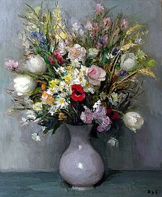 Tulipes - Marcel Dyf (1899-1985)