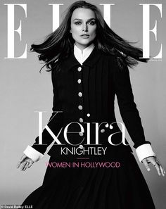 19a876112 Keira Knightley goes 1950s retro glam in silver dress for ELLE party