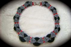 beaded necklace: Bicycle Chain von Diane Fitzgerald - GARDYPERLE