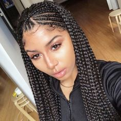 Buy this high quality wigs for black women lace front wigs human hair wigs afric.Buy this high quality wigs for black women lace front wigs human hair wigs afric. Braided Hairstyles For Black Women, African Braids Hairstyles, Braids For Black Hair, Braid Hairstyles, Black Girl Braids, Short Hairstyles, Modern Hairstyles, Wedding Hairstyles, Hairstyles Pictures