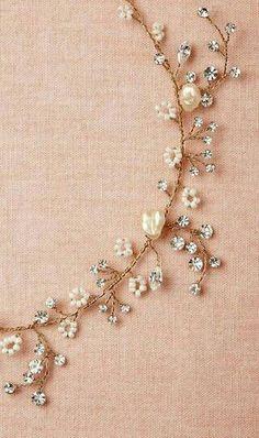 Beautiful Jewelry Starry Vine Necklace : if we can't do multi strand something dainty like this is cute Good, Wedding Jewelry, Jewelry Box, Jewelry Accessories, Jewelry Necklaces, Jewelry Design, Jewelry Making, Pandora Jewelry, Bracelets, Diy Jewelry