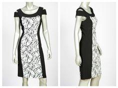 Si quieres lucir elegante y sensual, debes tener este vestido diseñado por joseph Ribkoff que te hará lucir espectacular.