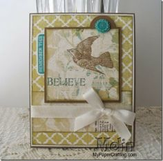CTMH Close To My Heart Skylark Paper Card Stamp True To Life Set