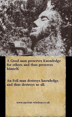 .Ancient wisdom