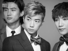 Taecyeon 택연, Wooyoung 우영, and Jun. K from 2PM 투피엠