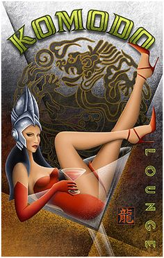 Michael Kungl Art ~ Komodo Lounge ~ Art Decó