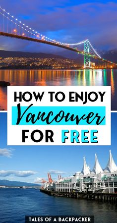 Fabulous Free Things to do in Vancouver Canada - Vancouver isn't the cheapest place to visit, but there are plenty of free things to do in Vancouver. Here are some of my favourite free activities in Vancouver so you can visit Vancouver on a budget and still enjoy the best of the city   Cheap Things to do in Vancouver Canada   Things to do in Vancouver for Free   Free Activities in Vancouver Vancouver Travel, Visit Vancouver, Free Things To Do, Cheap Things, America And Canada, North America, Cheap Places To Visit, Granville Island, Canadian Travel
