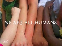 We're all human.