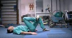 En rysk kirurg visar hur man undviker problem med ryggen, med bara några enkla övningar.
