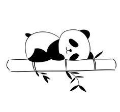 Best Ideas For Wall Paper Fofos Preto Panda Art Drawings Sketches, Easy Drawings, Animal Drawings, Panda Wallpapers, Cute Wallpapers, Cute Panda Drawing, Cute Panda Cartoon, Panda Mignon, Panda Lindo