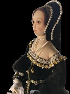 Anne Boleyn, Pearl Necklace, Costumes, Pearls, Chain, Lady, Collection, Women, Fashion