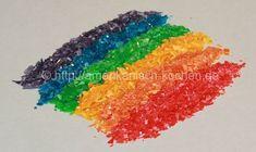 Rezept: Essbarer Glitzer/Glitter/Glimmer (Edible Glitter)