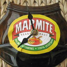 Marmite Jar/Bottle Clock - Original QUIRKY and UNIQUE