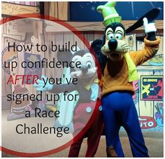 This is for anyone who's ever signed up for one of those CRAZY Run Disney Challenges!