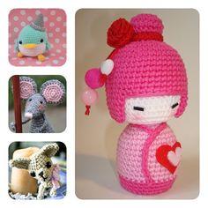 Imaginación con el crochet al poder Cactus E Suculentas, Asian Doll, Tiny Treasures, Projects For Kids, Crochet Toys, Crochet Projects, Hello Kitty, Diy Crafts, Dolls