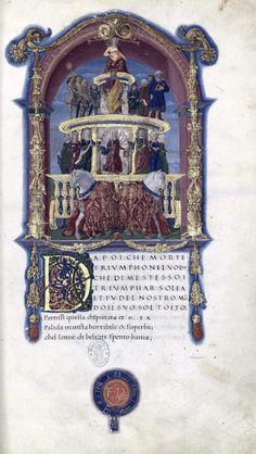 Species: Barocus - Francesco Petrarca - Rimas y Triunfos (15th...
