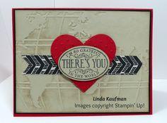 Linda K's Stampin' Page: World Traveler Valentine's Day Card