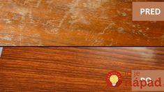 Zabudnutý trik na škrabance a fľaky na dlážke: Len natrite na povrch túto lacnú zmes a hneď vidíte ako rozdiel, podlaha bude ako z katalógu! Home Hacks, Bamboo Cutting Board, Good Things, Home Decor, Tips, Decoration Home, Room Decor, Home Interior Design, Home Decoration