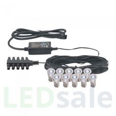 Eco Mini LED Koristevalo Ryhmä 6kpl Paketii