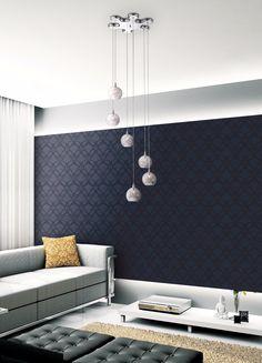 """Possini Euro Design Wired 18"""" Wide Glass Multi Light Pendant"""