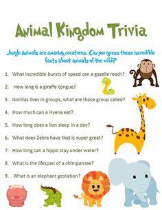 jungle animal baby shower game animal kingdom by 300