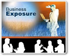 Get Exposed.Explode Your Business Marketing, Business, Store, Business Illustration