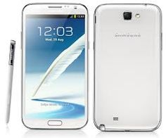 Samsung Galaxy Note® II - Marble White. ~~ My daughters and my new phones. We got a matched pair of them for us. LD.