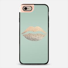SEAFOAM LIPS METALUX by Monika Strigel $50 Free shipping      Check out my new @Casetify using Instagram & Facebook photos. Make yours and get $10 off using code: QM2I9W