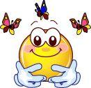 Smiley & Butterfly Friends