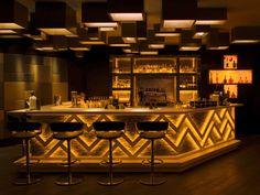 Modern bars, bar decoration, designer furniture UK | #furnituredesign #productdesign #barmoderndesign #UK  | More:   http://brabbucontract.com/projects
