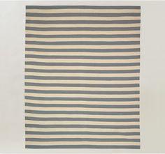 Dwell Studio - Draper Stripe Chinois Blue Rug 8X10
