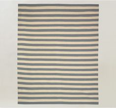 Draper Stripe Chinois Blue Rug 8X10 - Rugs - Home by DwellStudio