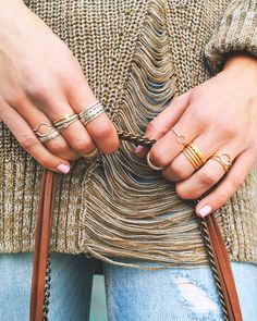 ALL-NEW Karma Rings #dogeared #rings