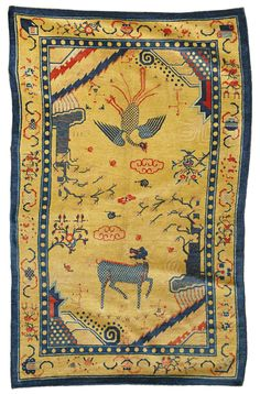A Chinese carpet | lot | Sotheby's