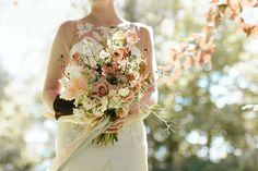 Fine Art Wedding Inspiration – An English Garden Romance With Seasonal British Blooms | Love My Dress® UK Wedding Blog