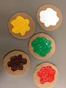 5 little cookies - with rhyme!