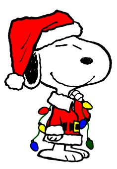 snoopy decorates his doughuse with christmas lights peanuts rh pinterest com snoopy christmas clipart free snoopy and woodstock christmas clipart