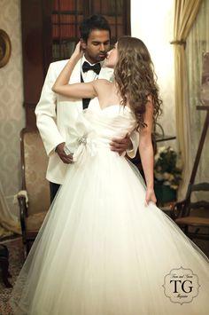 Cute Bride and groom photo idea